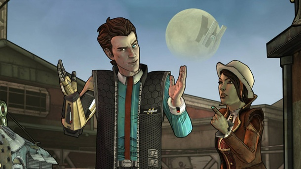 "Tales from the Borderlands: Telltale kündigt ""Atlas Mugged"" an. Tales from the Borderlands Abenteuerspiel von Telltale Games (Quelle: Telltale Games)"
