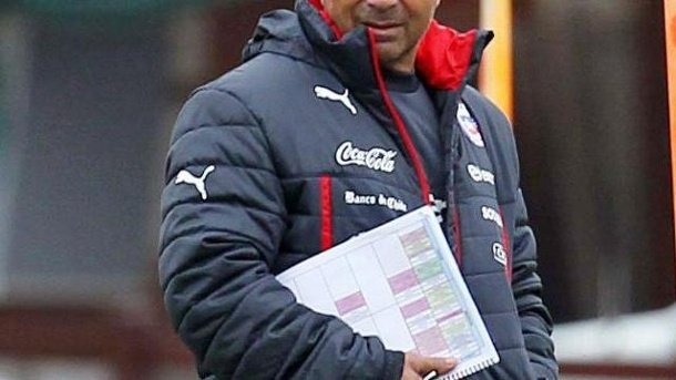 Chile-Trainer: In jedem Training alles geben. Nationaltrainer Jorge Sampaoli erwartet vollen Einsatz von den chilenischen Spielern.