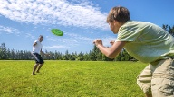 Beliebte Funsportarten: Ultimate Frisbee (Quelle: Thinkstock by Getty-Images)