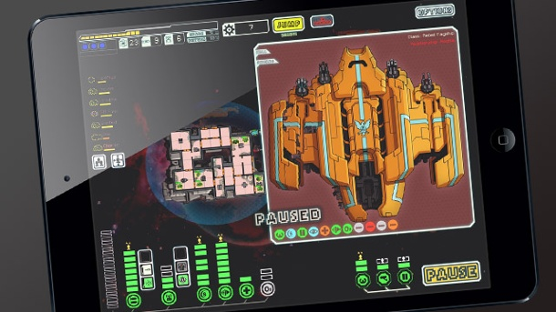 """Faster than Light"" fliegt auf das iPad. Weltraumspiel ""Faster than Light"" (FTL) für iPad (Quelle: Subset Games)"