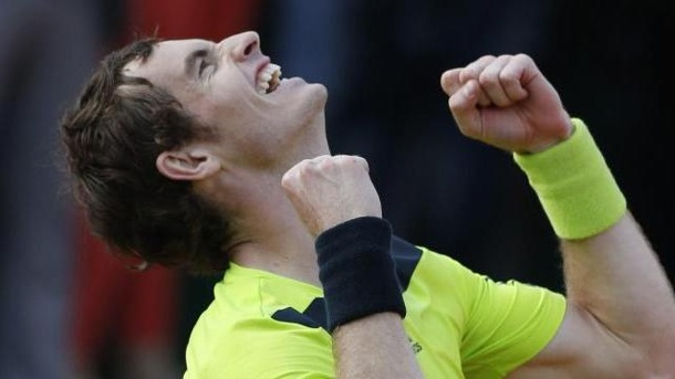 Murray und Monfils im Viertelfinale der French Open 2014. Andy Murray träumt vom Turniersieg in Paris.