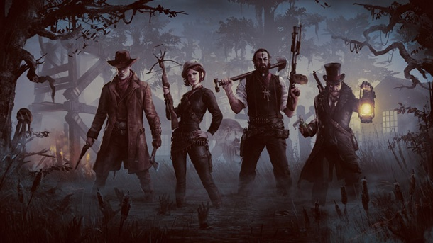 "Crytek stellt Online-Koop-Shooter ""Hunt – Horrors of the Gilded Age"" vor. Hunt Artwork (Quelle: Crytek)"