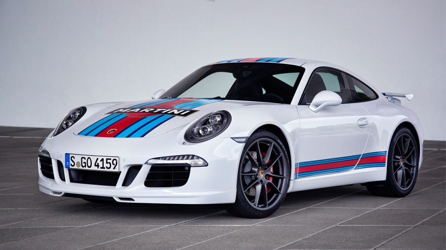 "Porsche 911 Carrera S ""Martini Racing Edition"" (Quelle: Automedienportal/Hersteller)"