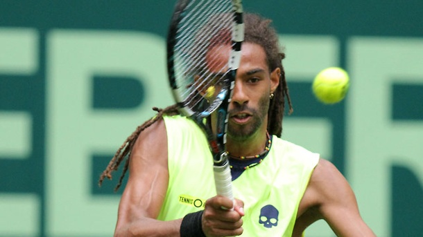Gerry Weber Open in Halle: Dustin Brown putzt Rafael Nadal weg. Dustin Brown. (Quelle: dpa)