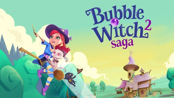 Bubble Witch Saga 2 im Test: Der stille Gassenhauer. Bubble Witch Saga 2 Shooter von King für iOS und Android (Quelle: King)