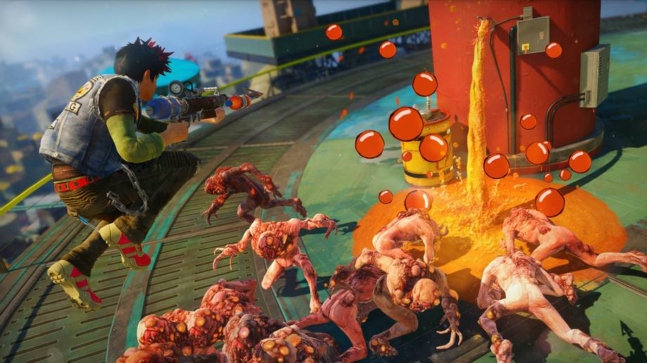 Sunset Overdrive Actionspiel von Insomniac Games für Xbox One (Quelle: Microsoft)