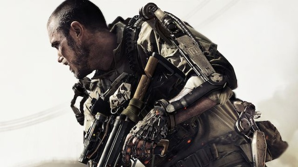 Call of Duty: Advanced Warfare - Ugrade-System soll Wiederspielwert erhöhen. Call of Duty: Advanced Warfare Ego-Shooter von Activision für PC, PS3, PS4, Xbox 360 und Xbox One (Quelle: Activision)