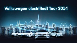 Volkswagen electrified! Tour 2014