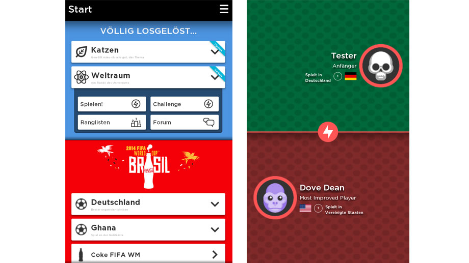 matchmaking quizduell I play all types of online games and never have a problems including buzz quiz tv the matchmaking would be like to try som online battle duell for.