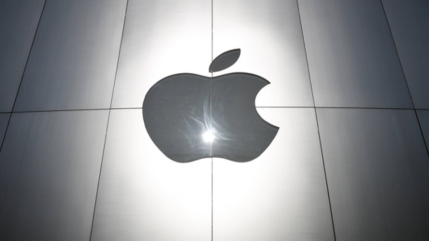 "China: Das iPhone ist ein ""nationales Sicherheitsproblem"". Apple Logo (Quelle: imago/AFLO)"