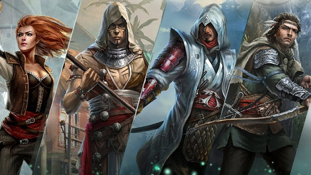 Assassin's Creed: Memories - Ubisoft macht Hearthstone Konkurrenz. Assassin's Creed: Memories Online-Kartenspiel von Ubisoft (Quelle: Ubisoft)