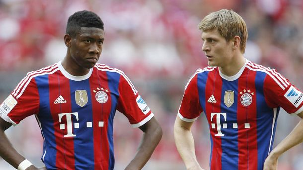 Toni Kroos (re.) und David Alaba (Quelle: imago\Avanti)