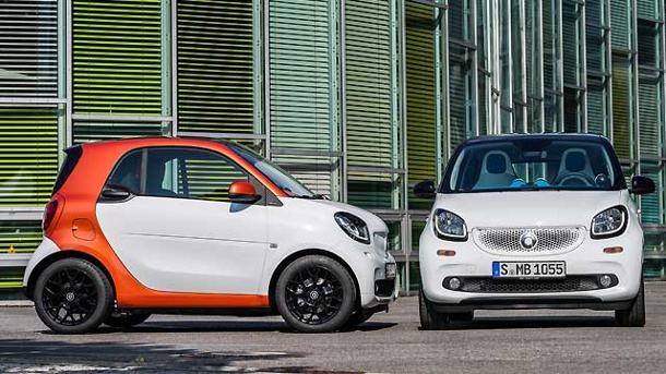 smart fortwo und smart forfour die preise sind da. Black Bedroom Furniture Sets. Home Design Ideas