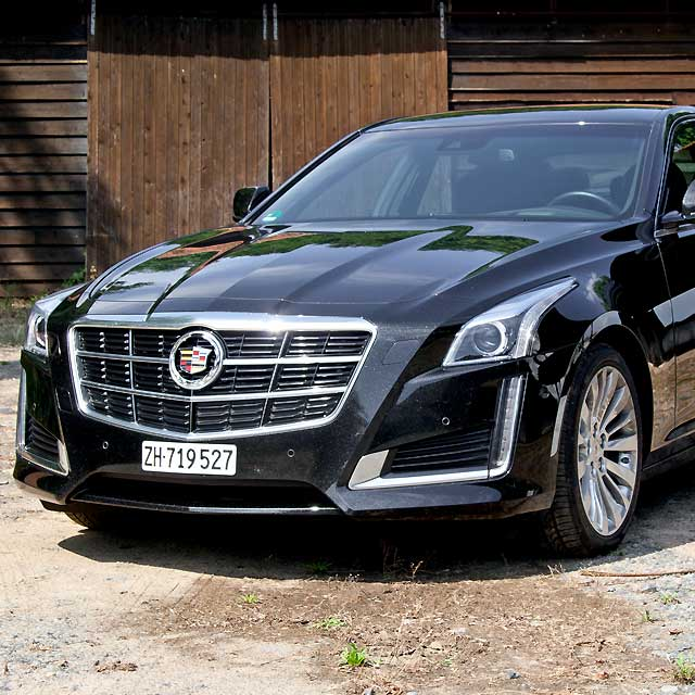 Awd Cadillac Cts: Test Cadillac CTS: Oberklasse-Limousine Zeigt Klare Kante