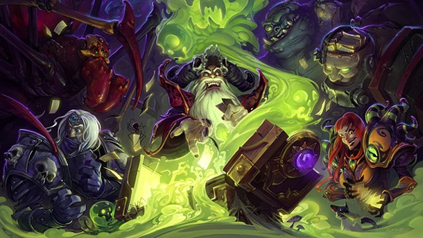 Test zu Hearthstone: Der Fluch von Naxxramas Add-on zum Online-Sammelkartenspiel von Blizzard. Hearthstone: Heroes of Warcraft Der Dluch von Naxxramas Add-on zum Online-Kartenspiel für PC, OS X und iOS von Blizzard Entertainment (Quelle: Blizzard Entertainment)