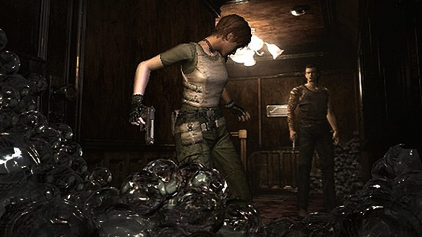 Resident Evil HD: Grusel-Klassiker kommt für PS4, Xbox One und PC. Resident Evil Survival-Horror-Game von Capcom (Gamecube-Version) (Quelle: Capcom)