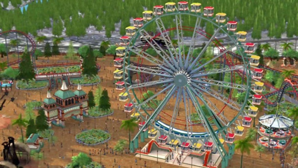 Atari kündigt Rollercoaster Tycoon World: The Series an. Rollercoaster Tycoon World Wirtschafts-Simulation von Atari für PC (Quelle: Atari)