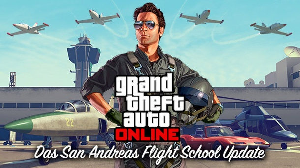 GTA 5 Online: Rockstar Games bringt Flugschulen-Update. GTA 5 San Andreas Flight School (Quelle: Rockstar Games)