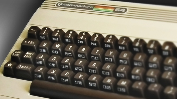 C64 und Amiga statt Playstation 4 - Retro-Gaming liegt im Trend. Commodore C64 Heimcomputer (Quelle: Commodore)