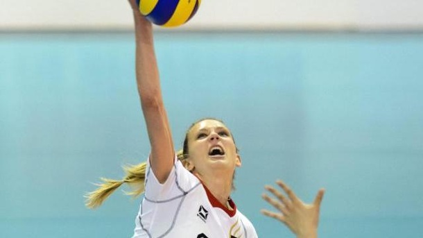 Volleyballerin Kozuch wechselt nach China. Margareta Kozuch geht nach China.