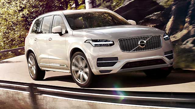 volvo xc90 neues suv wird luxuri ser und sicherer. Black Bedroom Furniture Sets. Home Design Ideas