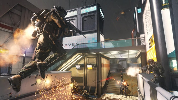 Hands-on-Preview zum Ego-Shooter Call of Duty: Advanced Warfare Multiplayer-Part. Call of Duty: Advanced Warfare Ego-Shooter von Activision für PC, PS3, PS4, Xbox 360 und Xbox One (Quelle: Activision)
