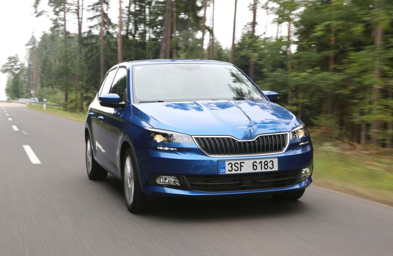 Skoda Fabia (Quelle: Press-Inform)