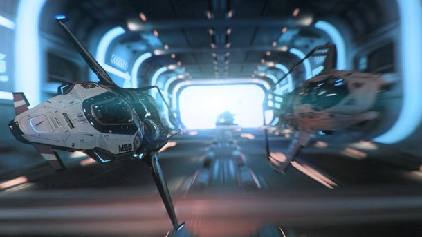 Star Citizen: Arena Commander Patch v0.9 fertiggestellt. Star Citizen Weltraumspiel von  Cloud Imperium Games für PC (Quelle: Cloud Imperium Games)