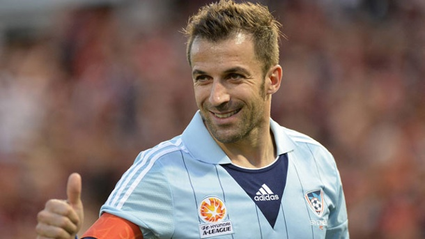 Indien: Del Piero und Co. starten in neue Superliga. Alessandro Del Piero (Quelle: imago/Action Plus)