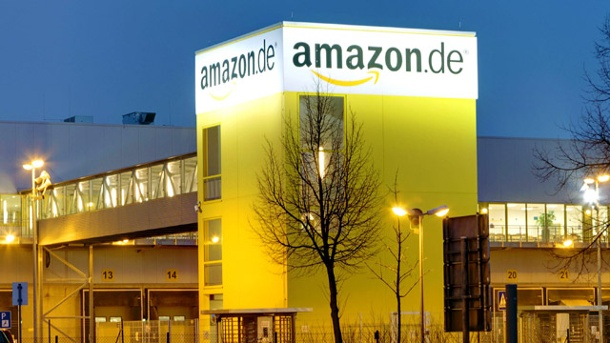 "Amazon bietet E-Book-Flatrate ""Kindle Unlimited"" in Deutschland an. Amazon Versandzentrum Leipzig (Quelle: imago/Star-Media)"
