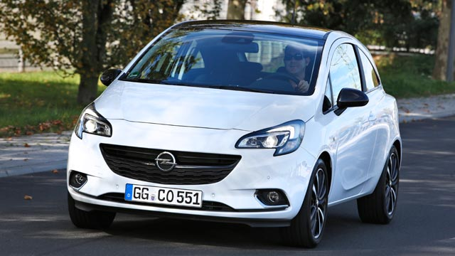 opel corsa e autotest mit neuem turbomotor im test. Black Bedroom Furniture Sets. Home Design Ideas