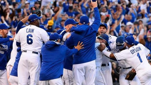 Baseball: Kansas City Royals hoffen auf World-Series-Coup. Die Kansas City Royals waren zuletzt 1985 in der World Series.