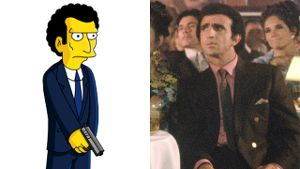 Frank Sivero in 'Good Fellas' und 'Louie', sein Alter Ego aus 'Die Simpsons'
