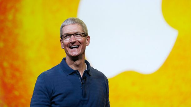 Apple-Chef Tim Cook (Quelle: dpa)
