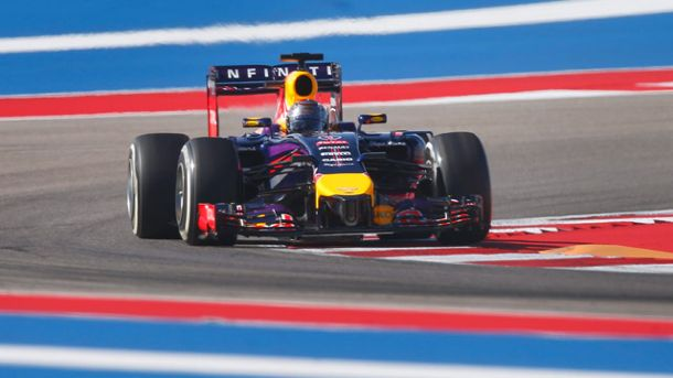 Sebastian Vettel auf dem Circuit of the Americas. (Quelle: dpa)