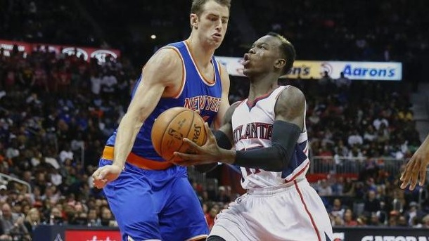 Basketball - Schröder gut in Form: Atlanta bezwingt die Knicks. Nationalspieler Dennis Schröder (M.
