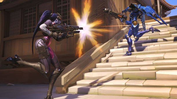 Overwatch: Fast 10 Millionen Teilnehmer am Betatest. Overwatch Multiplayer-Actionspiel von Blizzard  (Quelle: AP/dpa)