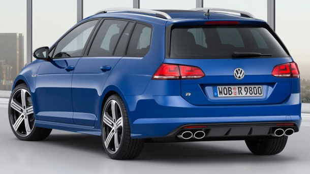 vw golf r variant golf 7 kombi mit 300 ps kostet knapp 43. Black Bedroom Furniture Sets. Home Design Ideas