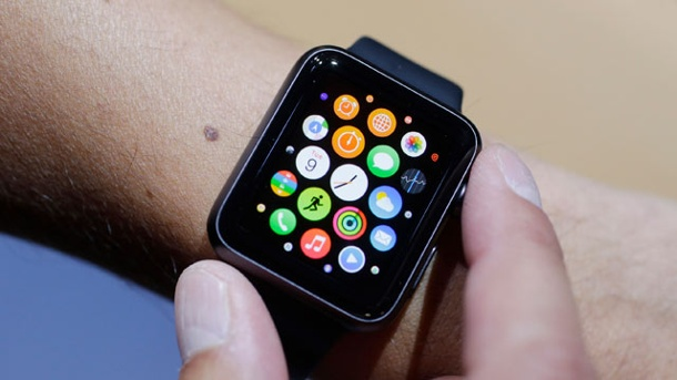 Apple Watch: Neue Details zur iOS-Armbanduhr. Apple Watch (Quelle: AP/dpa)