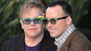 Elton John und David Furnish haben geheiratet