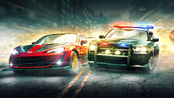 "Need for Speed: EA bremst Mobile-Ableger ""No Limits"" mit Benzinmangel aus. Need for Speed: No Limits Rennspiel für iOS und Android von Firemonkeys (Quelle: Electronic Arts)"