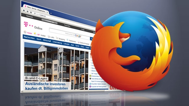 Firefox 35 zum Download: Mozilla-Browser kann chatten. Mozilla Firefox 35 zum Download (Quelle: t-online.de)