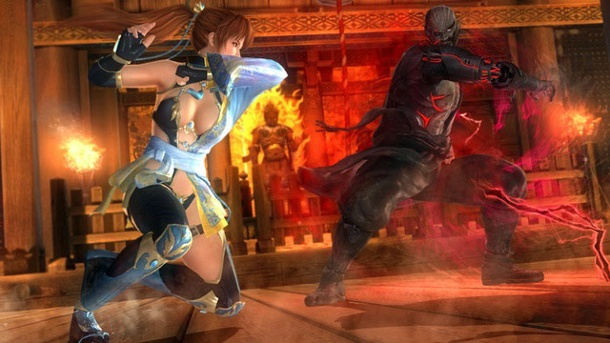 """Dead or Alive 5: Last Round"": PC-Version in abgespeckter Form. Dead or Alive 5: Last Round Beat'em-up von Team Ninja für PC, PS4, PS3, Xbox One und Xbox 360 (Quelle: Koei Tecmo)"
