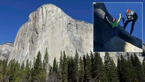 Yosemite-Nationalpark: Kletterer bezwingen Dawn Wall des El Capitan