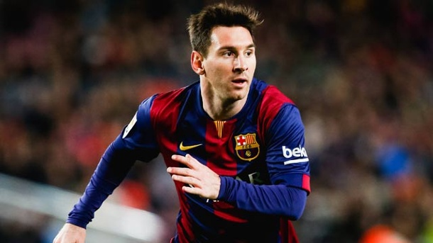 . Barcelonas Lionel Messi in Aktion (Quelle: imago/AFLOSPORT)