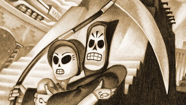Grim Fandango, Evolve und Raven's Cry: Neue Konsolenspiele. Grim Fandango Remastered Adventure von Double Fine Productions für PC, PS4 und PS Vita (Quelle: Double Fine Productions / Sony)