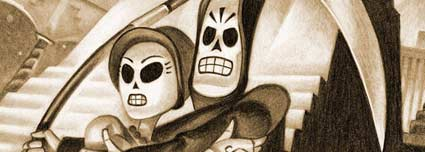 Grim Fandango Remastered Adventure von Double Fine Productions für PC, PS4 und PS Vita (Quelle: Double Fine Productions / Sony)