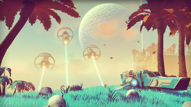 "No Man's Sky: Hello Games startet das ""Foundation Update"". No Man's Sky hat das Potenzial, das Minecraft der Playstation-Generation zu werden. (Quelle: Hello Games)"