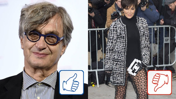 Wim Wenders und Kris Jenner: Top & Flop des Tages. Wim Wenders und Kris Jenner (Quelle: imago/Independent Photo Agency/PanoramiC)