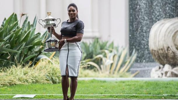 Tennis: Serena Williams will Steffi Grafs Rekord. Serena Williams legt beim Pressetermin wert auf ihr Outfit.